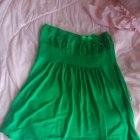 Zielona z kokardką