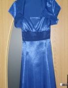 Sukienka wieczorowa kobalt...