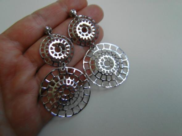 NOWE Piękne kolczyki srebro 925 etno styl