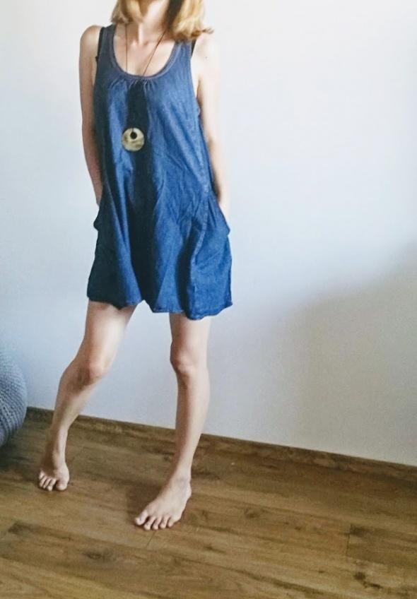 Sukienko tunika jeansowa ONLY na lato 36 38...