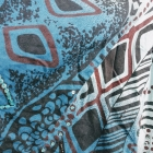 Rozkloszowana maxi spódnica debenhams XL etno folk