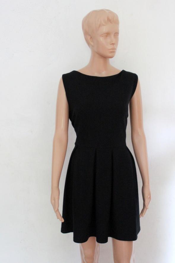 Krótka czarna sukienka mała czarna r XXL