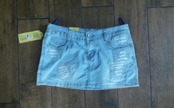 Spódniczka mini jeans rozmiar M