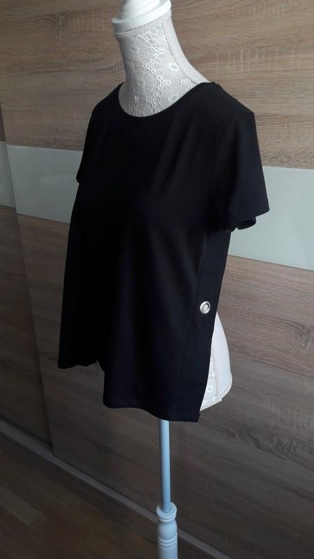 Czarna bluzka odkryte plecy House 36 Nowa...
