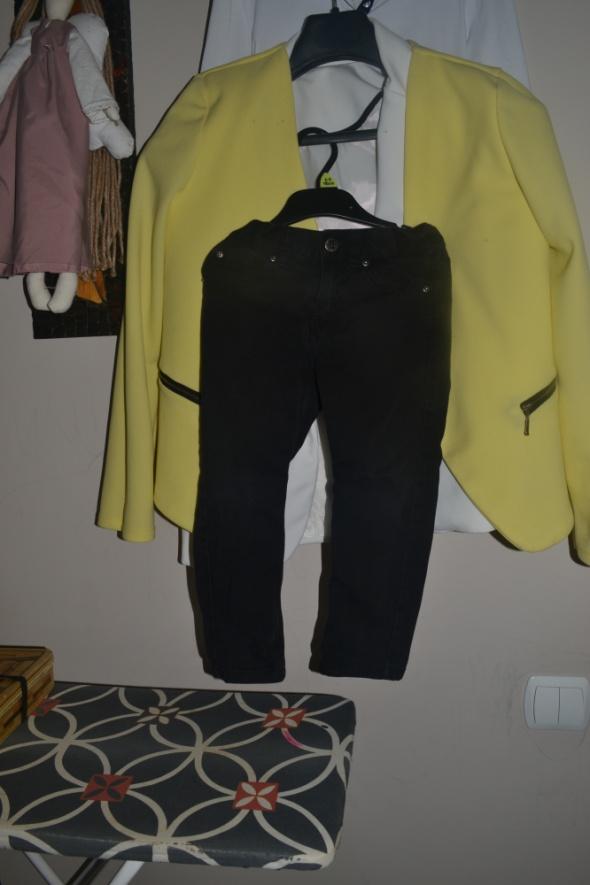 Jeansowe H&M spodnie 3 4 lata 104cm 98cm...