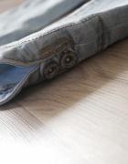 Jeans legginy jasne Xs S jak NOWE...