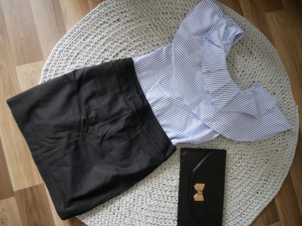 Spódnica klasyczna czarna H&M 38M