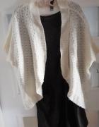 Ażurowy sweterek narzutka 36