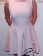 Sukienka suknia ZEGO pudrowy brzoskwiniowy 40 42 L...