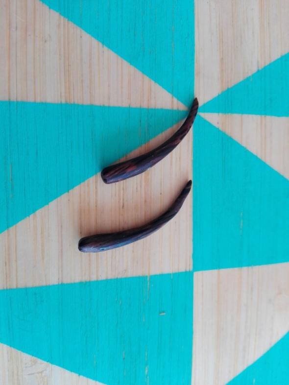 Rozpychacze dodo uszu 4 mm drewno z bambusa...