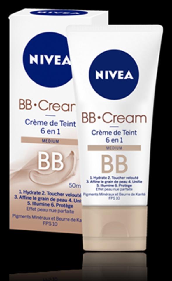 NIVEA BB 6w1 podkład medium...
