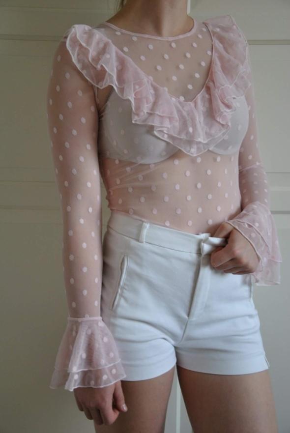 Seksowna bluzeczka z siateczki