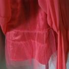 koralowa sukienka Lipsy 36