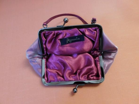Accessorize mała torebeczka różowa fioletowa...