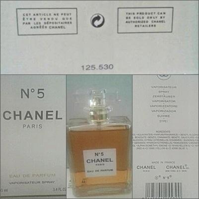 Perfum o zapachu No 5 Chanel Paris 100ml Replika...