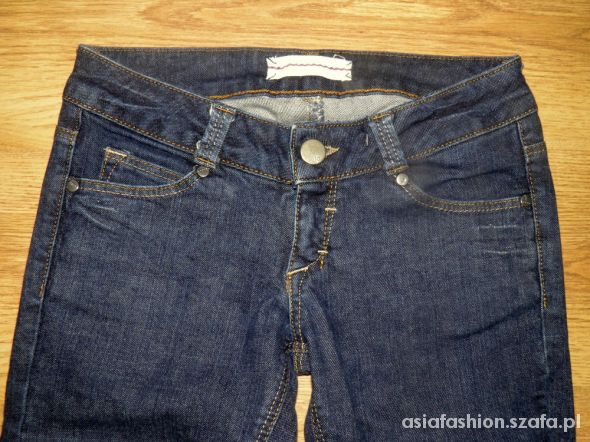 spodnie jak nowe 26x30 rozm xs dżinsy rurki