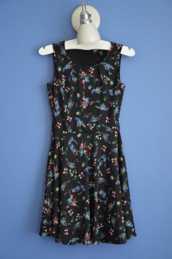 sukienka midi rozklosozowana S