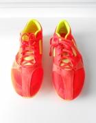 Buty do biegania ADIDAS z kolcami 40 neonowe...