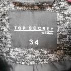 Kurteczka żakiet Top Secret roz 34 duży kołnierz