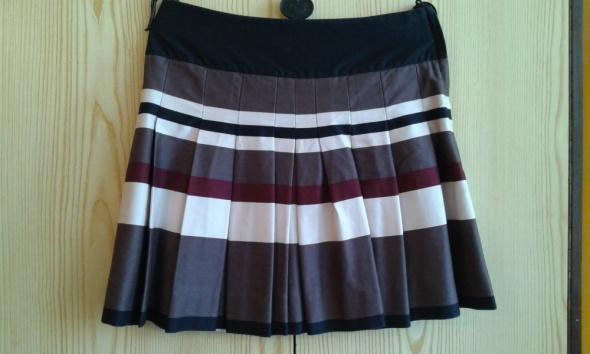 Plisowana spódnica w paski H&M 36 S...