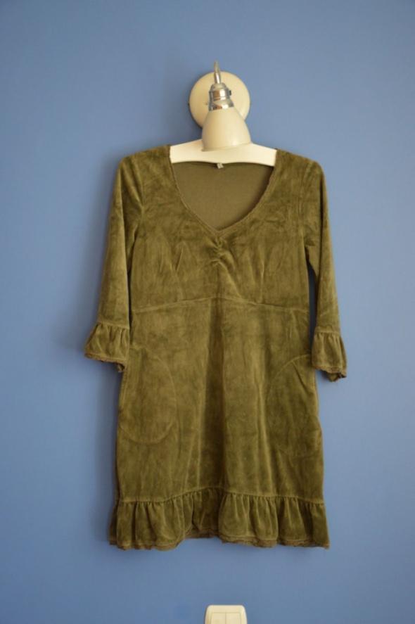zielona sukienka M