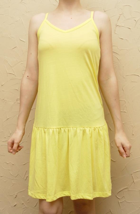 Nowa Cytrynowa Sukienka na Plażę Rozmiar S C&A