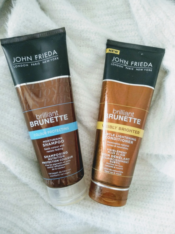 Zestaw John Frieda briliant brunette szampon i odzywka