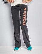 NOWE spodnie dresowe 40 fitness czarne butik...