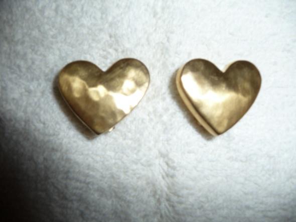 Klipsy serca