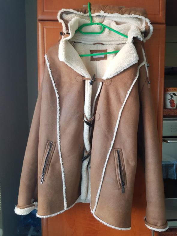 Nowy płaszcz CA canada premium plus size 44 do 46 ocieplany z k...