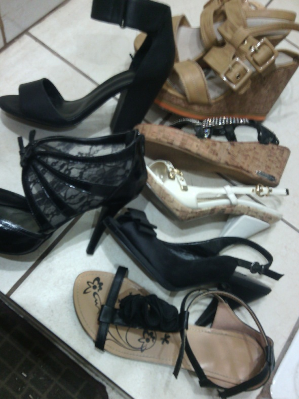 letnie sandalki...