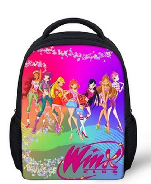 Plecak Szkolny Młodzieżowy z BAJKI Winx Dziewczęcy