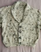 sweterek rozpinany chlopiecy uniwersalny na ok od 4 do 6 lat...