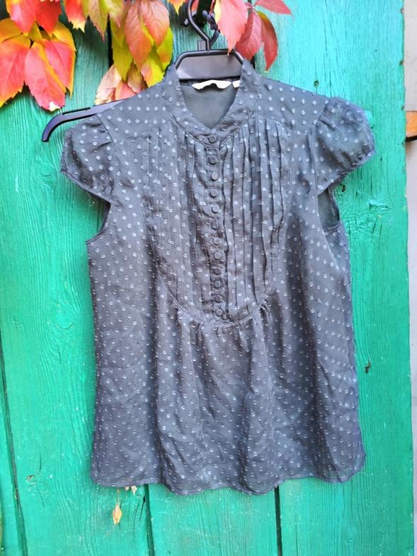 New look 10 elegancka bluzka do pracy na guziki do karmienia sz...