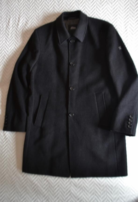 Płaszcz męski 54 sOliver idealny