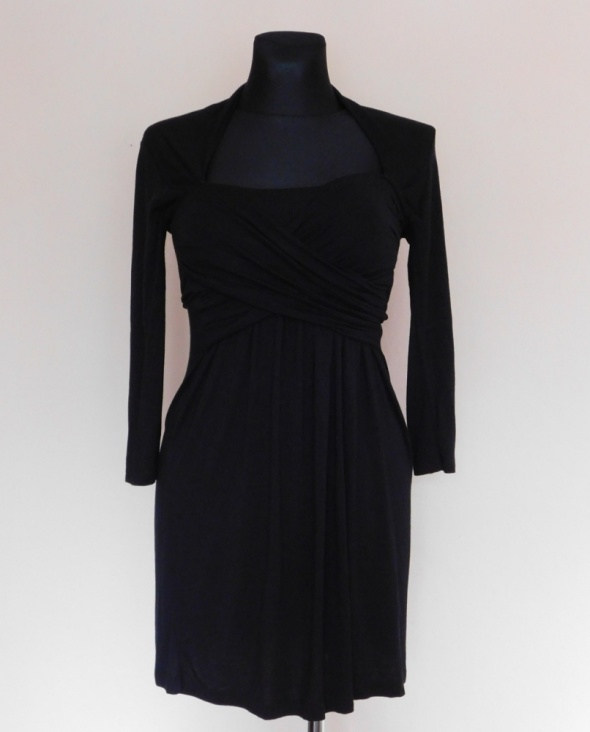 Asos czarna sukienka midi 40...
