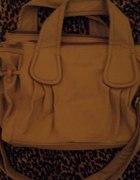 Szara pojemna torba