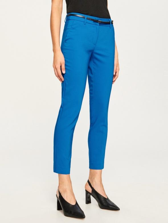 Spodnie eleganckie niebieskie RESERVED...