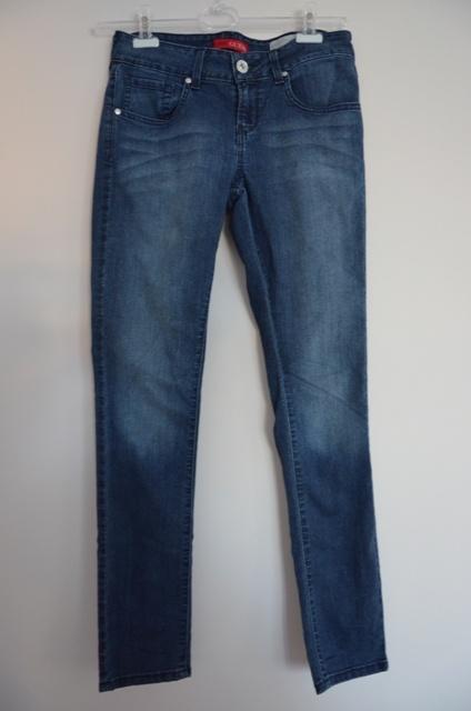 Guess spodnie damskie jeansy granatowe skinny 40 L...