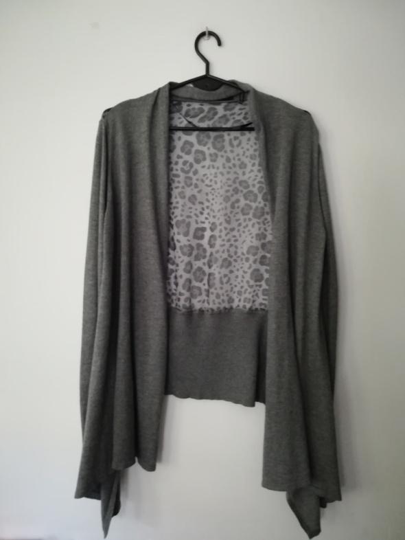 LINE sweter waterfall cashmere i panel silk