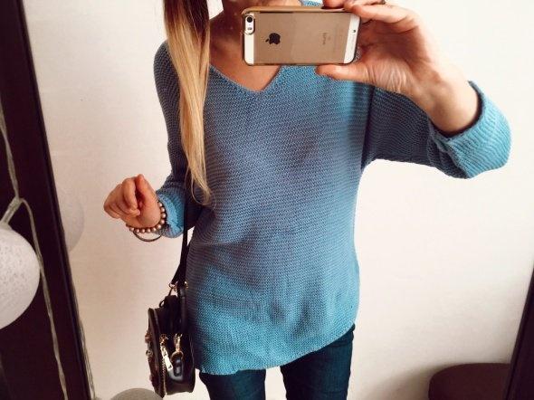 Sweter Damski Niebieski rozmiar M