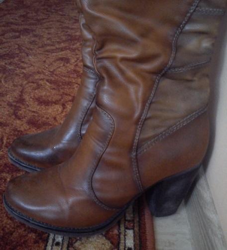 Długie buty zimowe damskie rozmiar 40