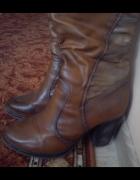 Długie buty zimowe damskie rozmiar 40...