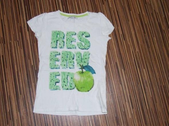 biala koszulka Reserved Kids rozmiar 146...