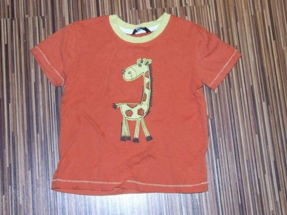 koszulka z zyrafa George rozmiar 104 110