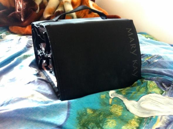 Mary Kay Kosmetyczka kuferek podróżna czarna rzep
