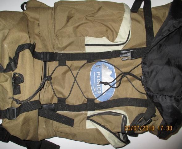 Duży plecak turystyczny