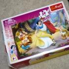 DISNEY mini puzzle Królewna Śnieżka