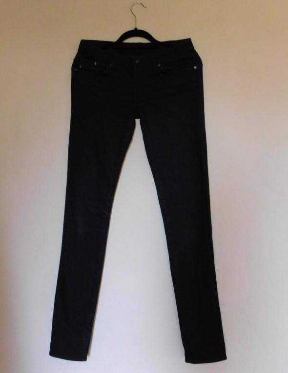 Rock & Republic czarne spodnie jeans rurki 38