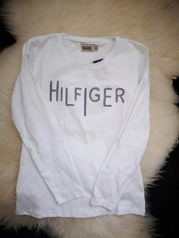 Tommy Hilfiger Bluzka damska biała XL